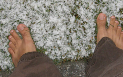 Winter Barefooting – Tackling the cold months while keeping our feet happy