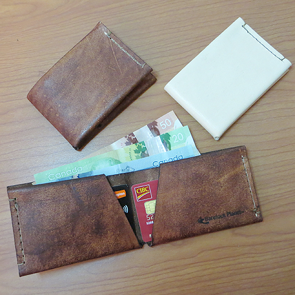 Barefoot Planet Leather Wallets