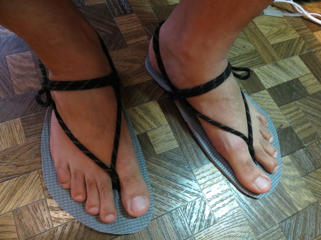 Yoga Mat Huaraches